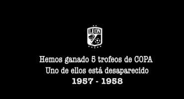 León aprovecha rescate de la Europa League para buscar su Copa México 1957-58