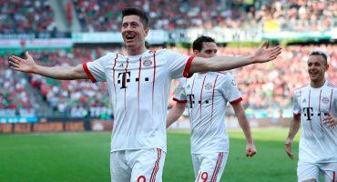 ¡Aquí te hablan Real Madrid! Lewandowski hace historia como goleador del Bayern