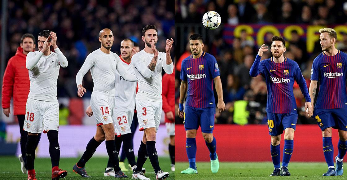 Layún vs Messi: Tremendo agarrón en la final de la Copa del Rey