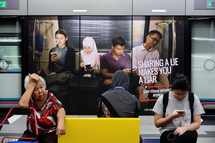 Malasia ley para combatir fake news