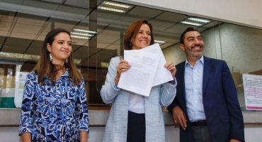 Margarita Zavala impugna inequidad en spots y en financiamiento ante el INE