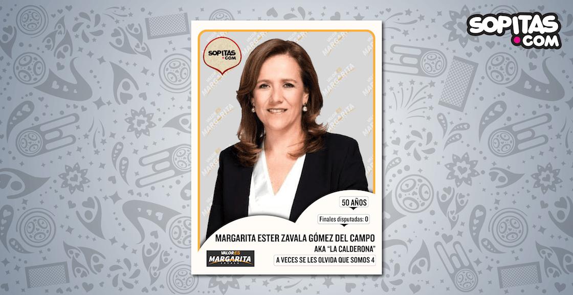 Margarita Zavala candidata independiente Presidencia