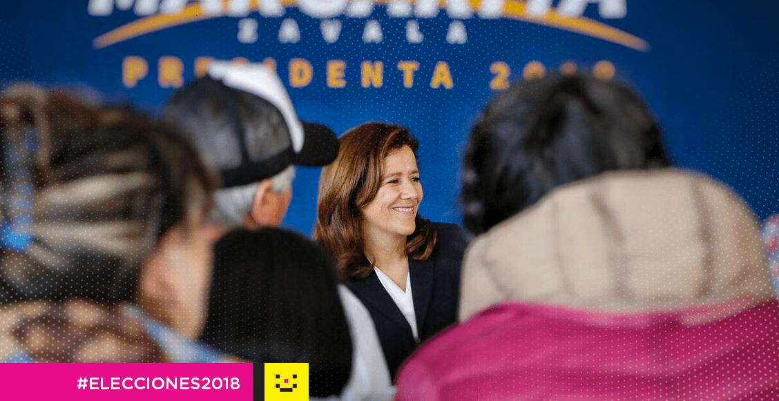 Margarita Zavala renuncia al financiamiento INE
