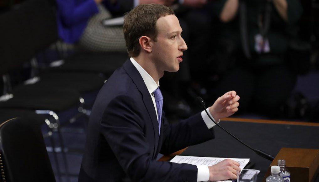 Mark Zuckerberg comparece ante senadores