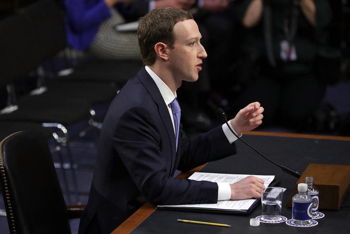 Mark Zuckerberg comparece ante Senadores de Estados Unidos