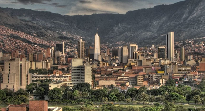 Panorámica Medellín, Colombia