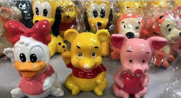 DEA confisca metanfetaminas ocultas en muñecos de cerámica