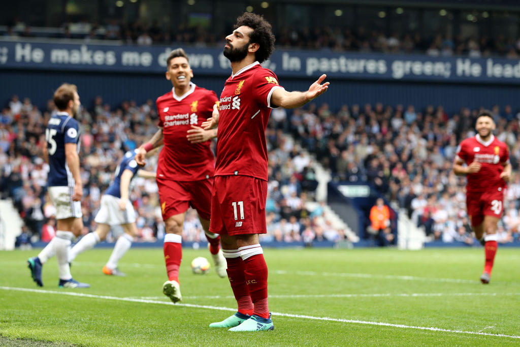 Mohamed Salah maximo goleador Inglaterra