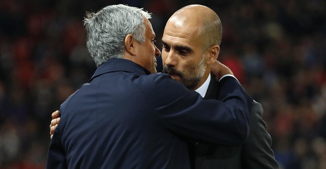 Mourinho Guardiola beso