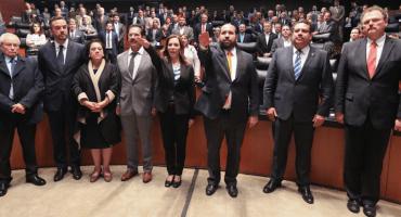 Pese a descontento de la oposición, Senado aprueba a comisionados del Inai