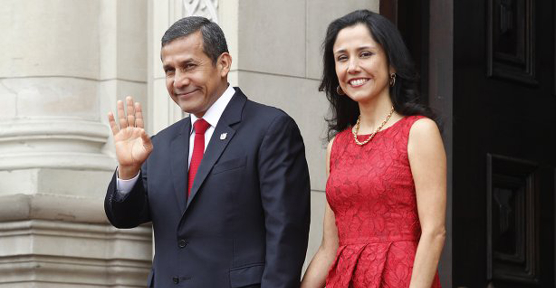 Ollanta Humala y su esposa