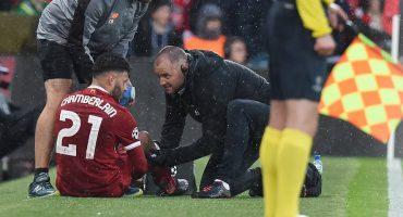 Otro menos para Rusia 2018, Oxlade-Chamberlain sufrió lesión en la rodilla