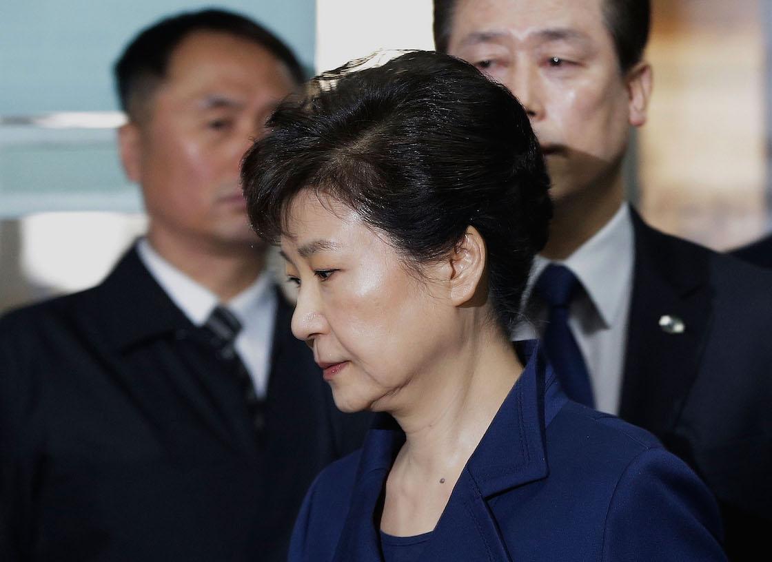 Park Geun Hye fue condenada a 24 años de prisión