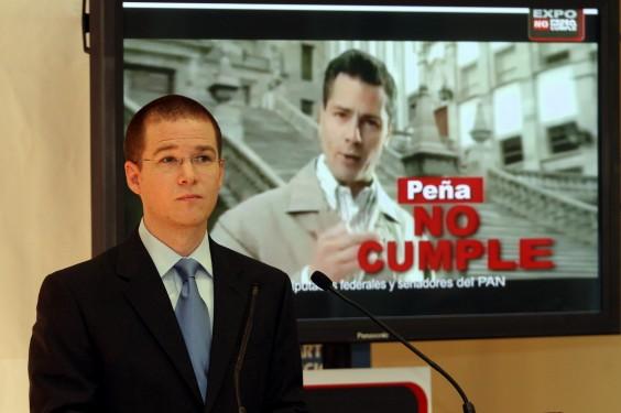 """Campaña """"Peña no cumple"""""""