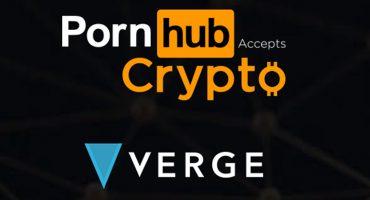 Ya puedes pagar en Pornhub con criptomonedas Verge