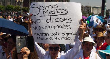 #YoSoyMedico17, el movimiento en contra de la criminalización de los médicos
