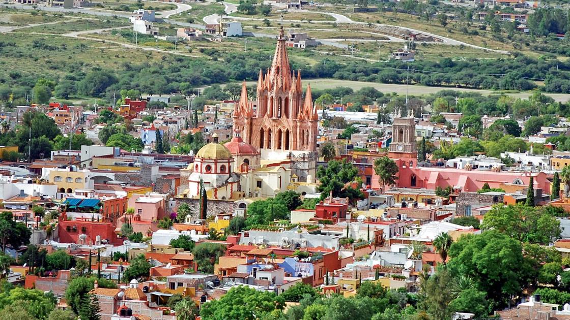 Panorámica de Puebla