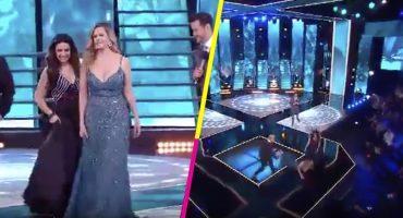 Alguien dígale a Ricky Martin que a Rebecca de Alba se le acabó el piso en TV Nacional 