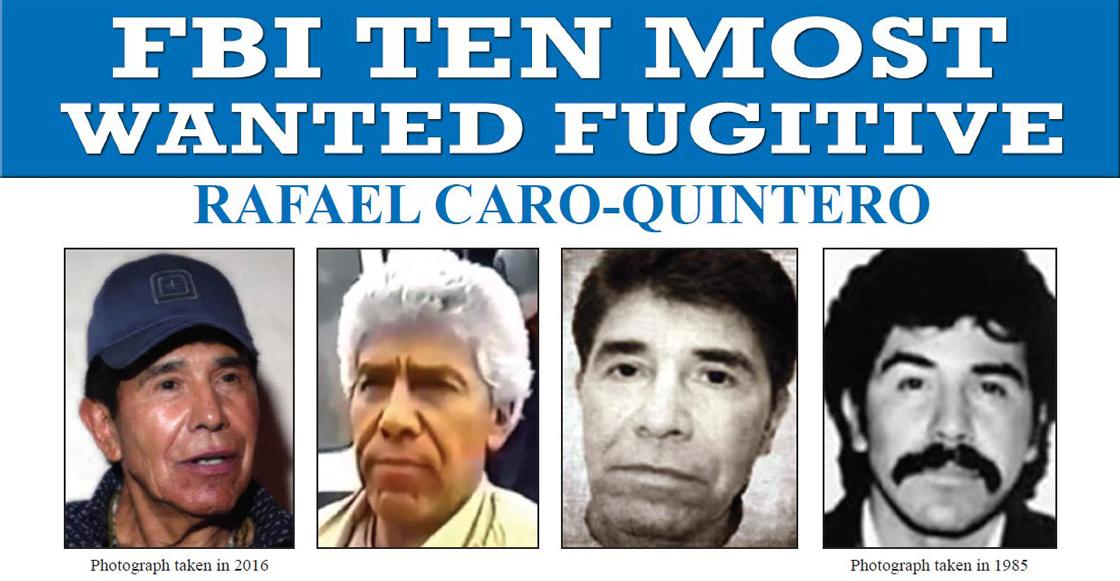 Rafael Caro Quintero FBI