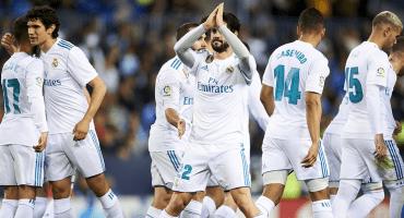 Real Madrid recuperó el tercer lugar de La Liga al vencer al Málaga