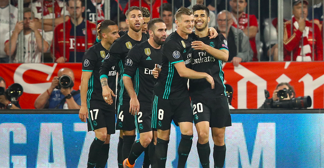 Real Madrid remonto bayern