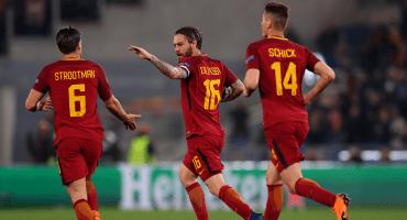 ¡Sorpresón! Roma goleó, aulló y eliminó al Barcelona
