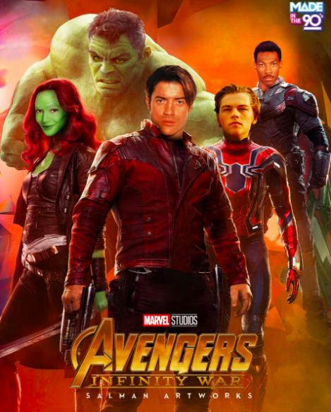 Cómo se verían los superhéroes interpretados por actores de los noventas