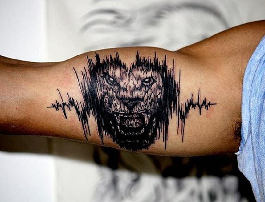 tatuaje con sonidos