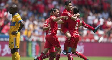 Diablos históricos, Toluca venció con un golazo a Tigres