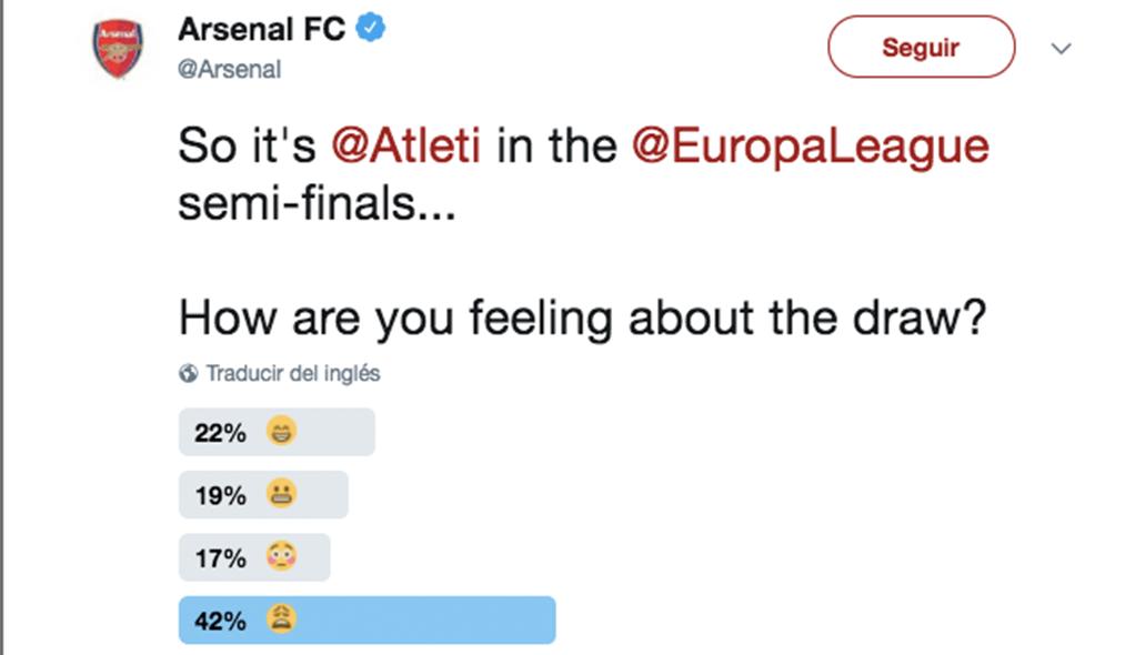 Trolleo fans del Arsenal