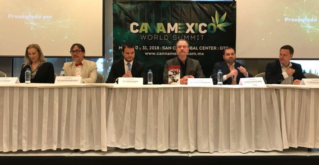 Vicente Fox pide que candidatos debatan legalización de la marihuana