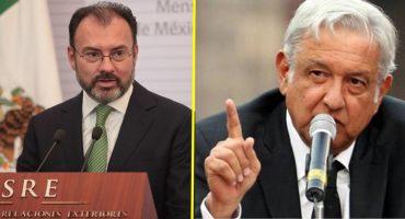 SRE pide clarificar amenaza de Trump y AMLO propone una cadena humana