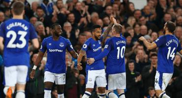 Walcott le dio el triunfo al Everton sobre el Newcastle