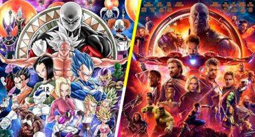 Entendí esa referencia: Un fan hizo un poster de Dragon Ball Super al estilo de Avengers: Infinity War