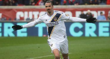 Primer partido como titular y Zlatan le da el triunfo al Galaxy