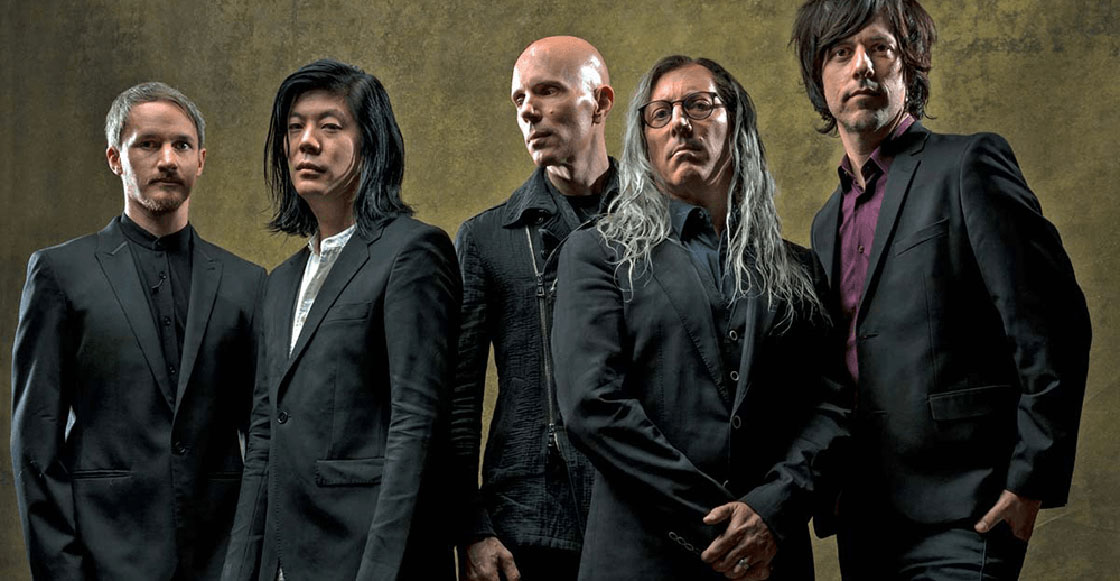Peinaditos y bonitos: Checa la presentación de A Perfect Circle en Jimmy Kimmel Live!