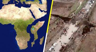 ¡África podría quedar separado en dos! 😱