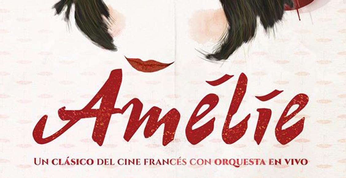 Amelie con orquesta