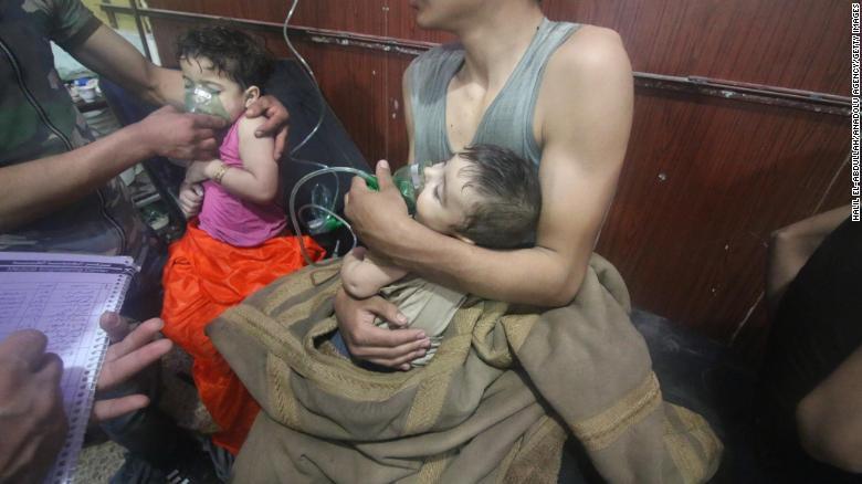Se reporta otro ataque químico en Siria; se estiman más de 150 muertos