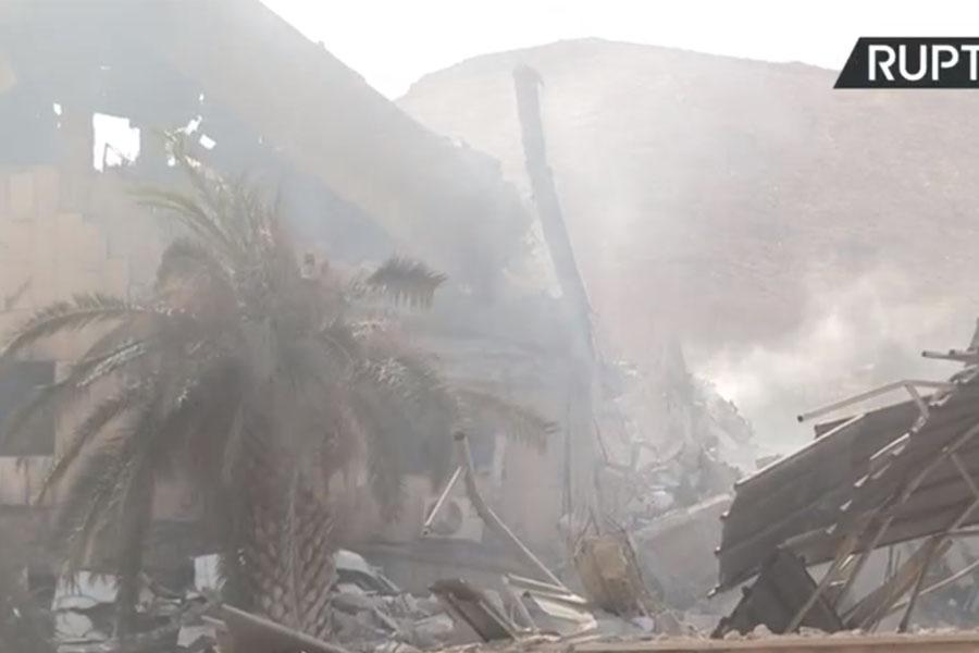 En imágenes: El ataque a Siria por parte de Estados Unidos, Francia y el Reino Unido