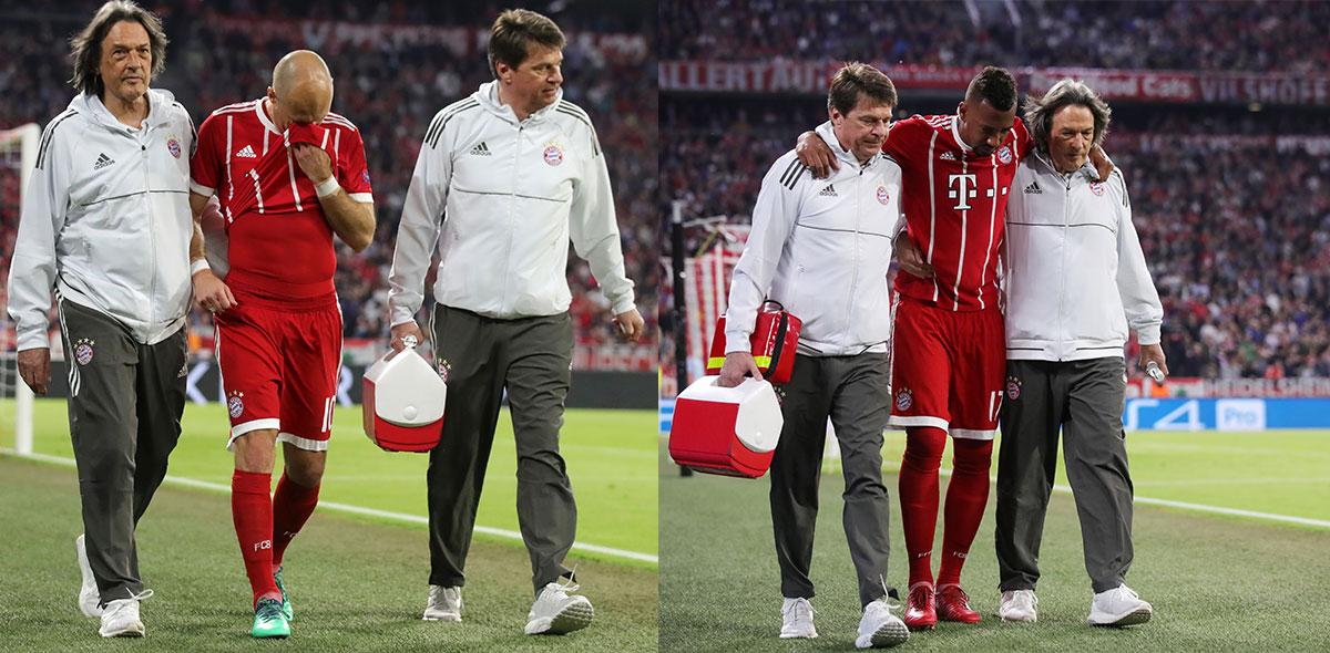 Lesionados Bayern Munich