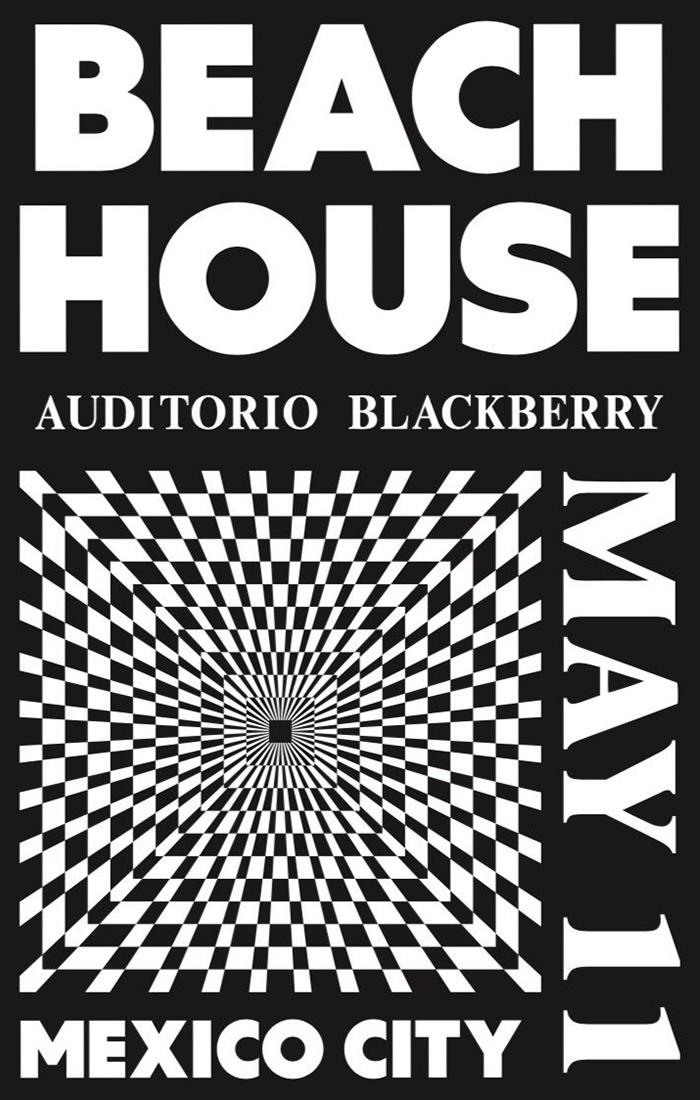 Beach House en el Auditorio Blackberry en la Ciudad de méxico