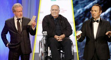 """Dice que """"Qué vergüenza"""": Bertolucci a Ridley Scott por sacar a Kevin Spacey de su filme"""