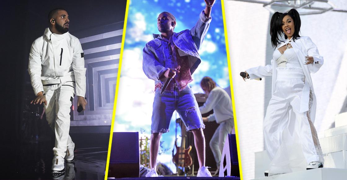 R&B, bitch! Kendrick, Drake y Cardi B en los nominados para Billboards 2018