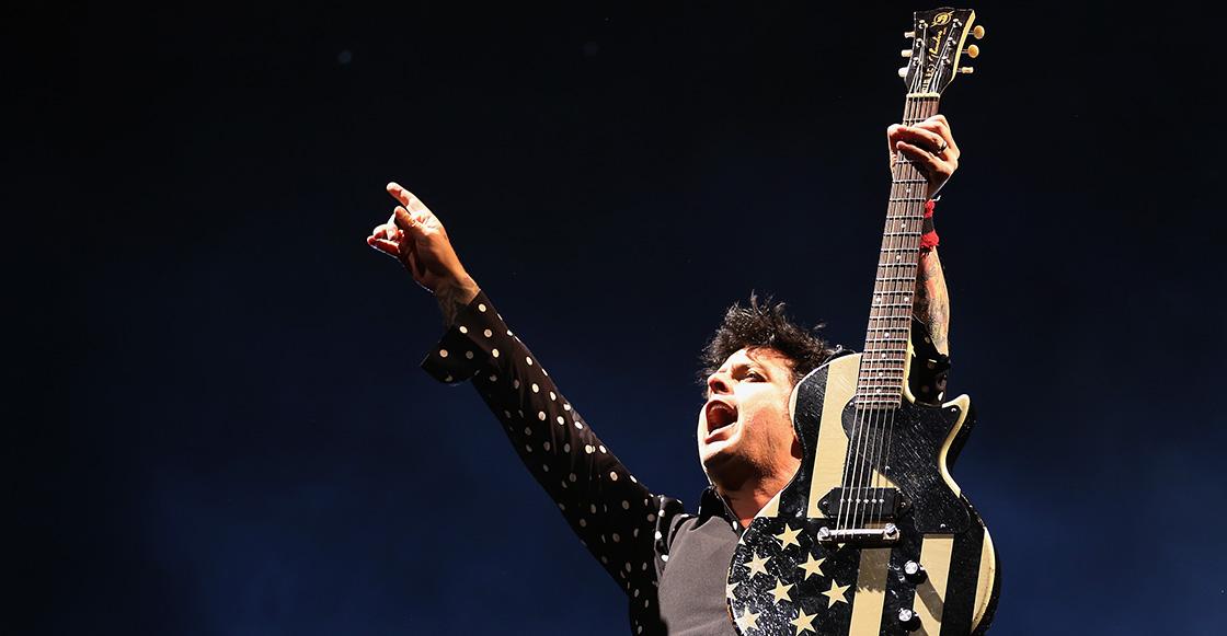 Porque tres no es ninguna: Billie Joe Armstrong acaba de formar una nueva banda