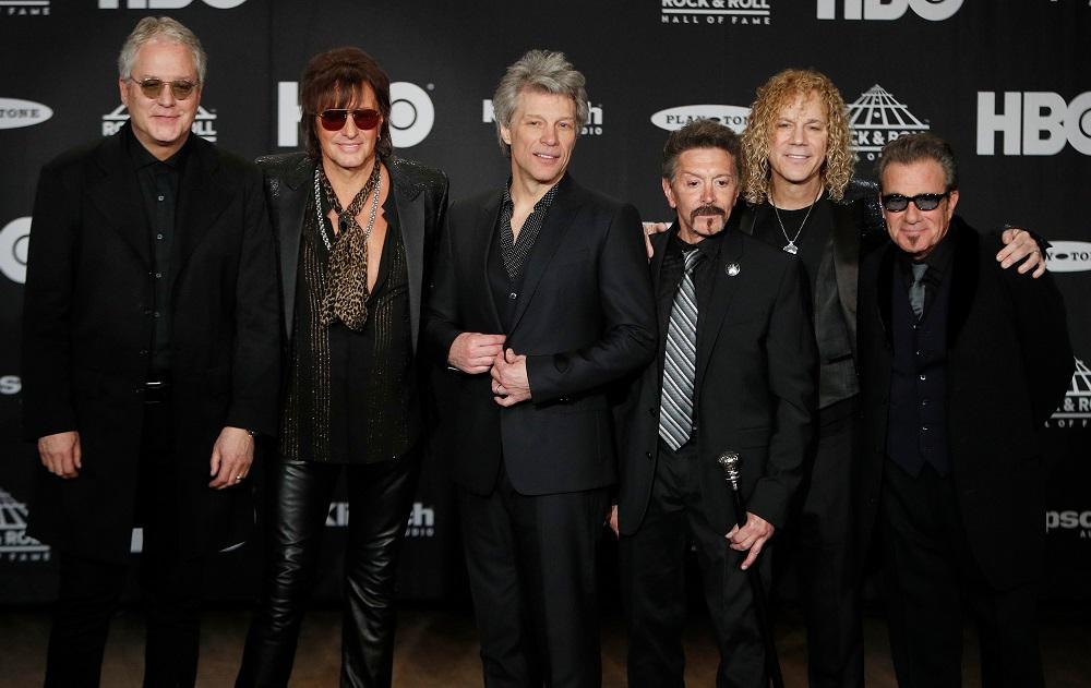 Ahora sí es oficial: Bon Jovi ya forma parte del Salón de la Fama del Rock
