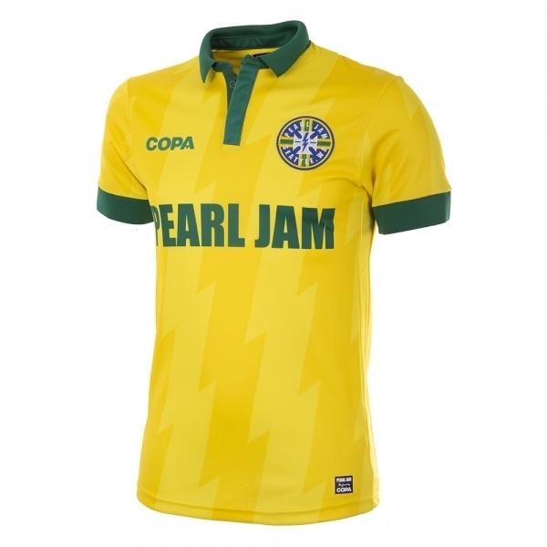¡Enloquezcan pamboleros! Pearl Jam lanza jerseys de equipos que participarán en la Copa Mundial