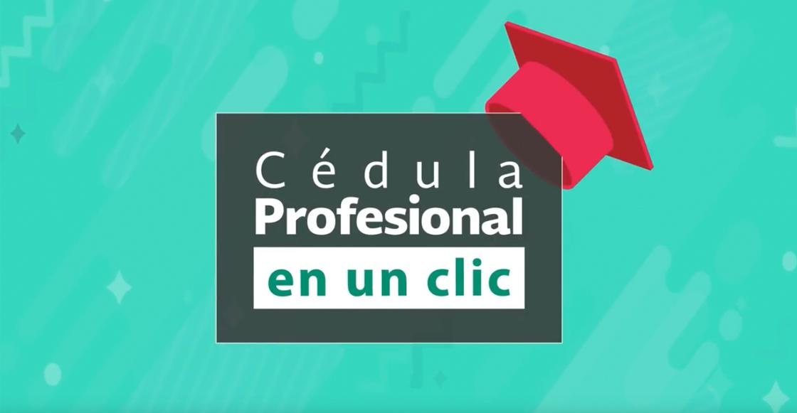 cédula profesional digital