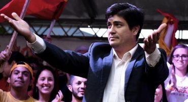 En Costa Rica ya hubo elección presidencial y ganó el oficialista Carlos Alvarado