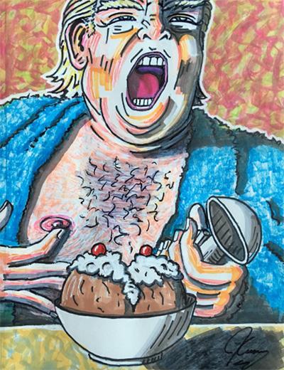 Caricaturas presentan: Los 10 mejores cuadros antirrepublicanos de Jim Carrey